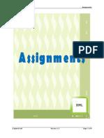 XML Assignment
