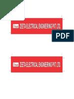 Zeeta Electrical - PATTI -PDF