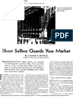 1932 January Nations Business Short Selling