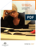 Eye Health in the Workplace 2012