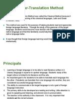 Lecture 1 Grammar Translation