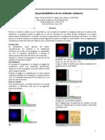 Interpretacion probabilistica de orbitales atómicos
