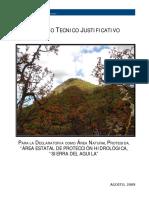 Estudio Técnico de la Sierra del Águila