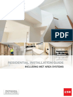 GYPROCK 547 Residential Installation Guide 2015