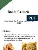 Curs 17 Celiachia, Mucoviscidoza