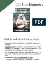 chapter 11 stoichiometry ppt pdf
