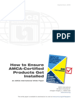 How to Ensure AMCA-Certified Products Get Installed