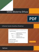Otitis Eksterna Difusa