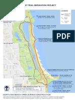 Lakefront Trail Detour