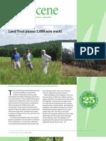 Spring 2008 Landscene Newsletter Natural Heritage Land Trust