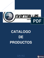 Catalogo General Invermallas