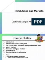 1. Financial Institutions and Markets