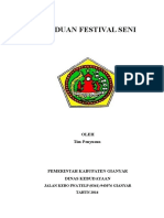 Panduan Festival Seni