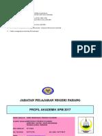 Profil Akademik Spm Mti Sekolah 2017