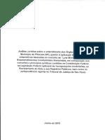 Parecer Jurídico - Aprovação de Condomínios Horizontais - Piracaia (SP)