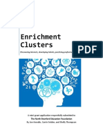 enrichmentclusters ed found mini-grant application