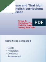 Vietnamese Curriculum and Thai