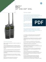 Dgr- Mototrbo Radiosdgp 6150 Dgp 6150