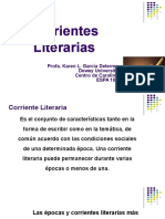 Corrientes Literarias Presentación