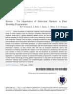 2 Review the Importance of Molecular Marcado