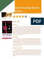 hotel rwanda revieew
