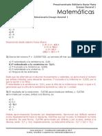 Ensayo General 1 Matemáticas