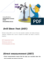 Drill Stem Test (DST)