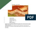 Torta Fiambre en Licuadora