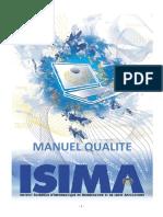 Manuel Qualité ISIMA