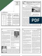 Fall 2009 Driftline Newsletter Oregon Shores Conservation Coalition