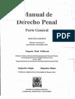 Manual de Derecho Penal. Parte General. Zaffaroni