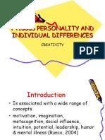 Wk 12 - Creativity