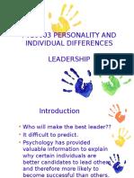 Wk 13 - Leadership