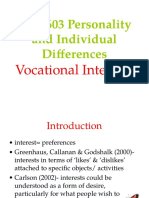 Wk 14 - Vocational Interest