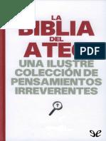 La Biblia Del Ateo - Joan Konner