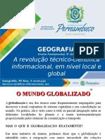 A revolução técnico-científica informacional, em nível local e global.ppt