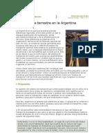 Transporte Terrestre en La Argentina