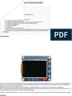 Raspberry PI 2.2 inch TFT Screen Extension Board