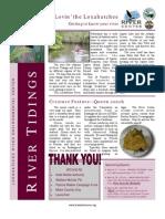 February 2009 River Tidings Newsletter Loxahatchee River Center