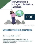Conceitos geográficos