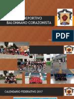 CLUB DEPORTIVO   BALONMANO CORAZONISTA 2017 MINI.pptx