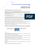 Sistemas de Control i. Módulo 1. Versión 2014a