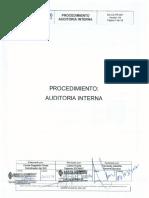 Sd CA Pr 007 Auditoría Interna v04
