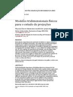 Cristina Jardim e Ligia Medeiros_Modelos Tridimensionais Físicos Para o Estudo de Projeções