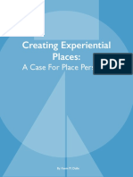 Creating Experiential Places 9-02-2016