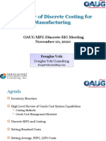 Overview of Oracle Discrete Costing for MFG v2