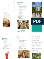 health resort brochure