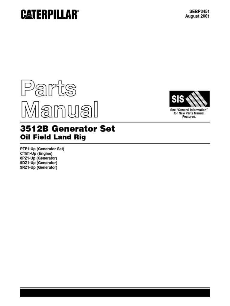 Manual De Partes 3512b Cat Wiring Diagram