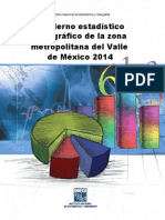 Cuaderno Estadisticos Del Valle de Mexico Inegi
