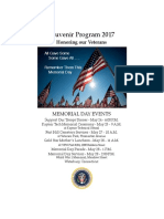 2017 Waterbury Veterans Dinner Program